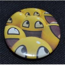 """Button """"Acid Smilies"""""""