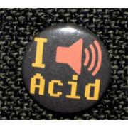 "Button ""I Acid"""