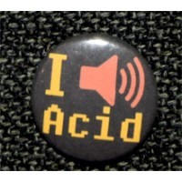 "Button ""I Acid"""