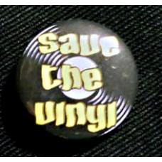 "Button ""Save The Vinyl"""