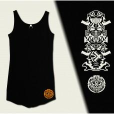"""Dress Curved Vest """"Totem"""""""