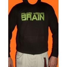 "Hoodie ""Plug Your Brain"""